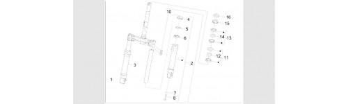 Composants de la fourche (Wuxi Top Marque de la fourche)